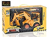 Best Remote Control Trucks - MousePotato Wireless Remote Control Rechargeable Truck Excavator For Review