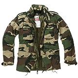 Surplus Vintage Jacke M65 Regiment, Gr_¤e XL, woodland