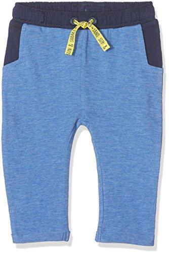 s.Oliver Baby-Jungen Jogginghose 65.805.75.7344, Blau (Blue Melange 55w9), 74