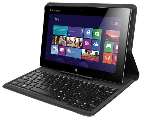 Lenovo Miix 10 - Tablet - Keine Tastatur - Atom Z2760 / 1.8 GHz - Windows 8 32-Bit - 2 GB RAM