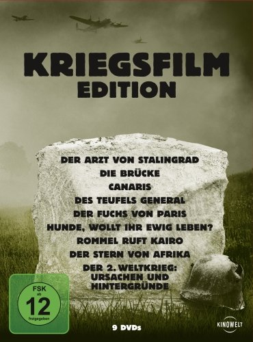 Bild von Kriegsfilm Edition [9 DVDs]