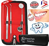 BeautyTrack - 3Pcs of Dental with Mirror Handle - Plaque