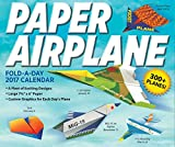Paper Airplane Fold-a-Day 2017 Craft Day-to-Day Calendar