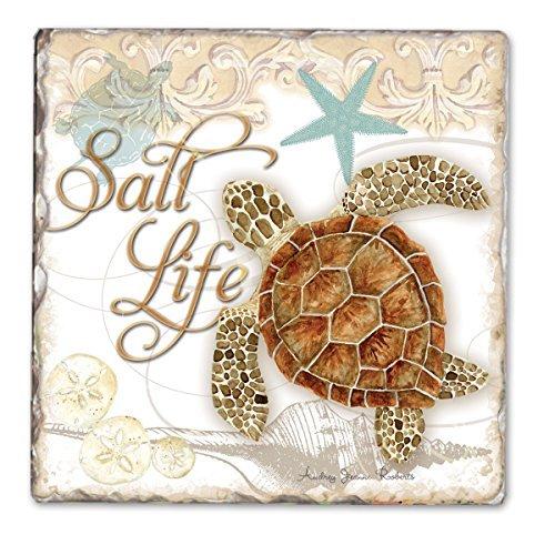 Salz Leben Einzelner Trommel Tile Coaster -