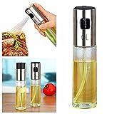 BESTOMZ Olivenöl Spray und Kochen Balsamico Essig Öl Sprüher Grillen Öl Flasche für Kochen Salat Brot Backen Barbecue Injector