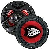BOSS CH6530 3-voies 300W enceinte de voiture - Enceintes de voiture (3-voies, 300 W, 4 Ohm, 90 dB, 100-18000 Hz, 1,27 cm)