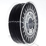 NuNus PETG Filament 1KG - (1.75mm, schwarz) *Premium Qualität in verschiedenen Farben, geeignet...