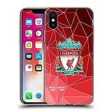 Head Case Designs Personalisierte Individuelle Liverpool Football Club Geometrisch 2018/19 Soft Gel Huelle kompatibel mit iPhone X/iPhone XS