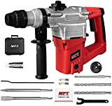 MPT 1 Inch SDS-Plus 1050W Heavy Duty Rotary Hammer Drill,3 Function and Adjustabl