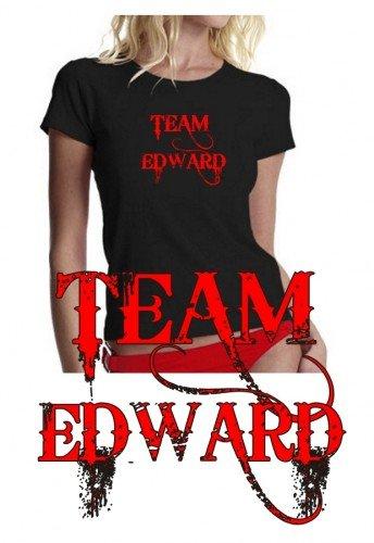 Eclipse-team-t-shirt (TEAM EDWARD - T-SHIRT schwarz_girly Gr.M)