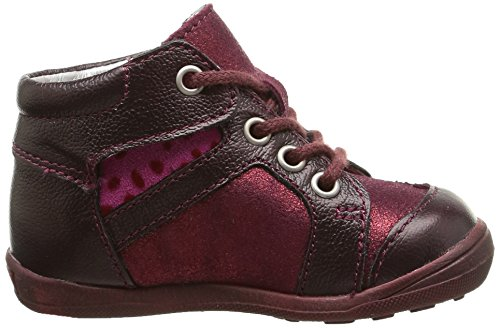 Catimini Cabillaud, Chaussures Premiers pas bébé fille Multicolore (Vte Bordo/Fushia Dpf/Gluck)