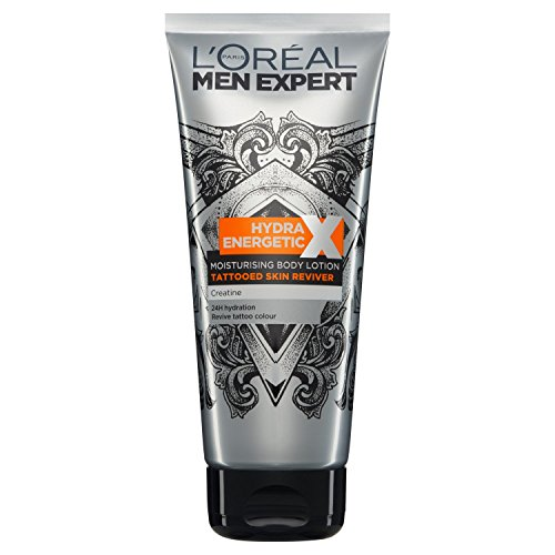 L 'Oreal Men Expert Hydra Energetic Tattoo Reviver Lotion 200 ml