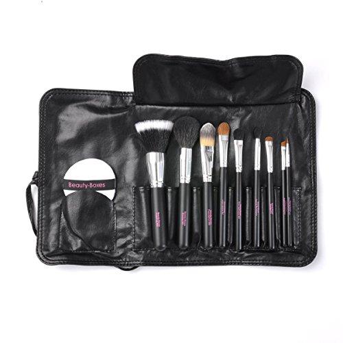 Beauty-Boxes Lot de 9 pinceaux à maquillage professionnels