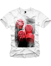 E1SYNDICATE T-SHIRT XTC RED DEFQONS DANCE MDMA ECSTASY TUNE IN RAVE S-XL