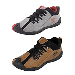 Chevit Men's Combo Pack of 2 Casual (Running Shoes)