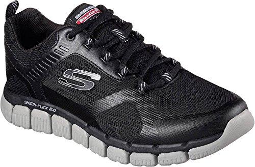Skechers 52620 hommes Baskets noir/gris