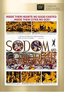 Sodom and Gomorrah [DVD] [1962] [Region 1] [US Import] [NTSC]