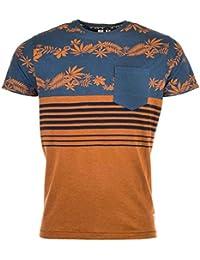 T-shirt � col rond Fly53 pour homme en bleu