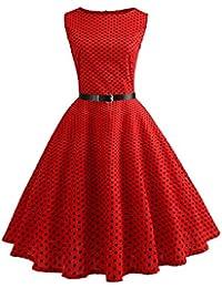 purchase cheap a8169 4a8f3 Amazon.it: Gonna a palloncino - Rosso / Vestiti / Donna ...