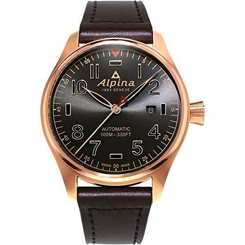 Alpina Geneve Startimer Shadow Line Automatic AL-525GG4S4 Reloj Automático para Hombres