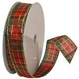 Morex Ribbon Splendor Wired Plaid Fabric...