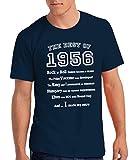 The Best of 1956 - T-shirt cadeau pour le 60e anniversaire - Hommes
