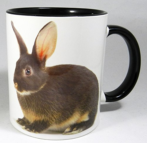 Gekleidet Bunny - The Little Grey Bunny Mug with