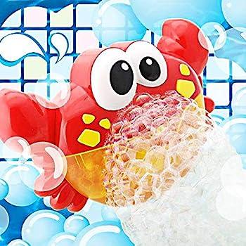 Forwei Bubble Crab Jouets Grenouille Jouets deau De Salle De Bain pour /Écologique B/éb/é Machine /À Bulles Enfants Donne Une Happy De Bain Jouets pour Enfants