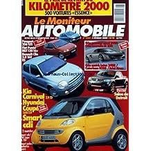 MONITEUR AUTOMOBILE (LE) [No 1204] du 03/02/2000 - ESSAIS - 1ER ESSAI 340R - LA NOUVELLE M250 - MATCH LOTUS 340R - CATERHAM R500 ET ARIEL ATOM - PEUGEOT 206 GTI - FIAT PUNTO HGT 130 - RENAULT CLIO - SALON DE DETROIT - KIA CARNIVAL - HYUNDAI COUPE - SMART CDI