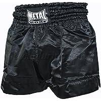 Metal Boxe–Short Thaã ¯ Metal Boxes (negro, S)