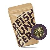 Reishunger Reistee, Genmaicha mit Matchapulver und geröstetem Natur Reis, Bio (250 g) - [in allen Größen erhältlich: 10 g bis 1 kg]