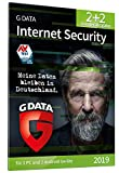G DATA Internet Security (2019) / Antivirus Software / Virenschutz für 2 Windows-PC und 2 Android-Geräte / Trust in German Sicherheit [Code per Post]|Standard|4 Geräte|1 Jahr|PC|Download|Download