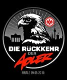 Aufkleber Rückkehr - 10 x 12cm Eintracht Frankfurt + gratis Sticker Frankfurt forever, Sticker, Autoaufkleber