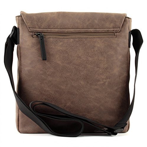 strellson Finchley ShoulderBag MVF Dark Grey Marrone