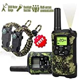 Kids Walkie Talkies Set - Rokkes Walkie Talkies 2 Way Radio Toy Walkie Talkie Birthday Gift