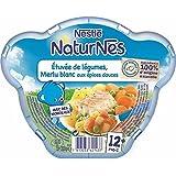Nestlé Naturnes étuvée de légumes merlu aux épices douces 230g dès 12 mois - ( Prix Unitaire ) - Envoi Rapide...