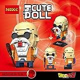 CuteDoll Figura de Maestro Roshi Master Roshi Dragonball Dragon Ball Puzzle Juego Bloques de...