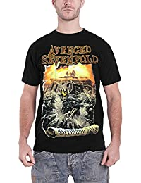 Avenged Sevenfold Germany Official Mens Black T Shirt