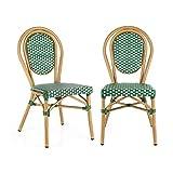 Blumfeldt Montpellier GR • Chaise de Jardin • Nettoyage Facile • Cadre en...