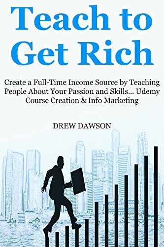 TEACH TO GET RICH: Create a Full-Time Income Source by Teaching People About Your Passion and Skills... Udemy Course Creation & Info Marketing Bundle (English Edition)