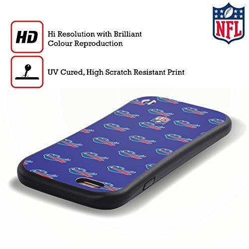 Ufficiale NFL Pattern 2017/18 Buffalo Bills Case Ibrida per Apple iPhone 7 Plus / 8 Plus Pattern