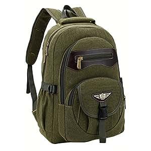 Jungen Rucksäcke Unisex Segeltuch Rucksack Schulranzen Schultasche Sports Rucksack mit der Großen Kapazität GudeHome