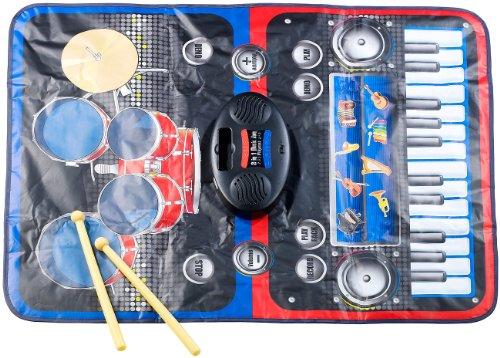 Preisvergleich Produktbild Playtastic Berührungsempfindliche 2in1-Musikmatte