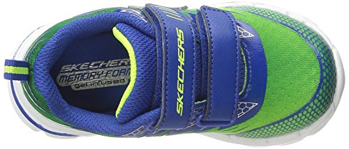 Skechers Kids nitrato largo scarpe casual Lime/Blue
