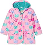 Hatley Girl's Printed Raincoat, Pink (Silly Kitties), 3 Years