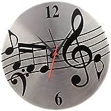 Jewel Fuel Steel Musical Note Analog 25 ...