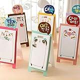 IMHERE W U Ruiboury Coreano della cancelleria rilievi di appunto Svegli Attaccando Memo Nota sopporto Scrapbook Stickers