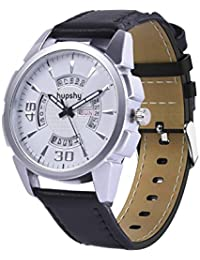 Hupshy® Analog Round Dial Men's Watch / Trendy Men's Watches / Watches For Men - DD1274