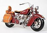 Red-Baron Motorrad Metall antik Indian