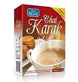 Instant Karak Chai Tee mit Milchpulver, Zucker und Kardamom, 8 x 25 g Beute